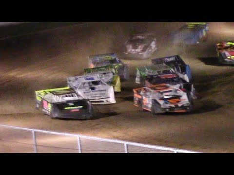 RUSH Crate Late Model Feature | McKean County Raceway | 6-20-17