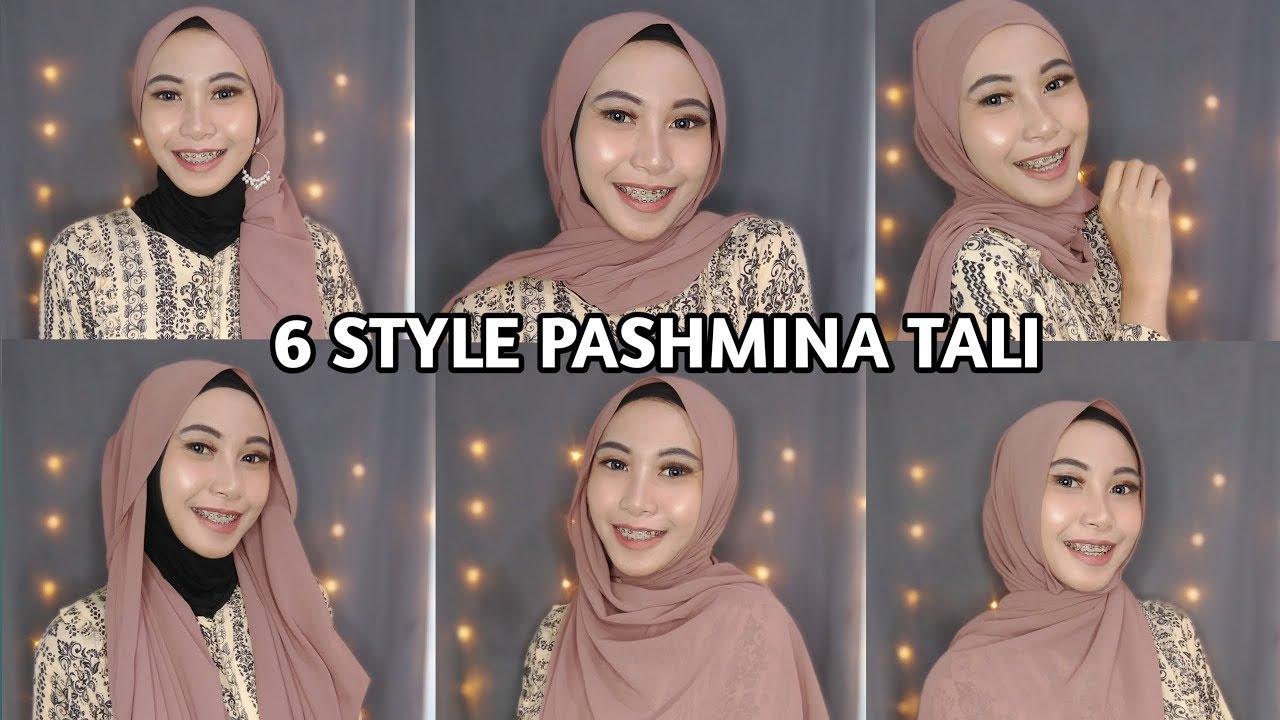 Tutorial Hijab Pashmina Part 2 Pashmina Tali L Nilasari Youtube
