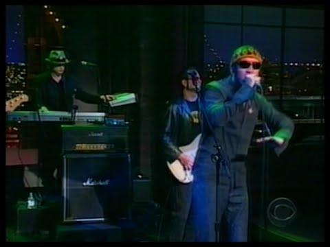 Live - The Dolphin's Cry (Letterman) 2000