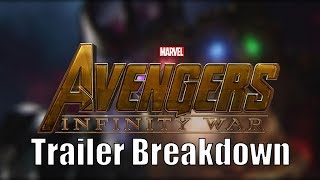 SDCC 2017: Avengers Infinity War Trailer Breakdown