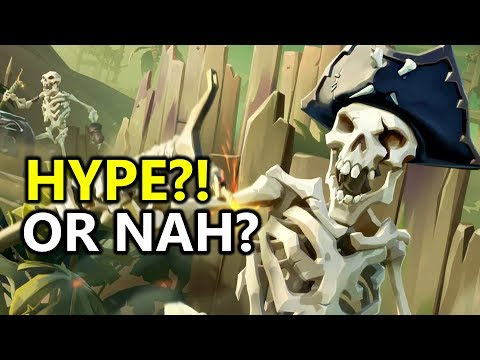 ♥ Sea of Thieves - HYPED?! or nah? Open World Pirate Action Adventure Game Coming To PC & Xbox One