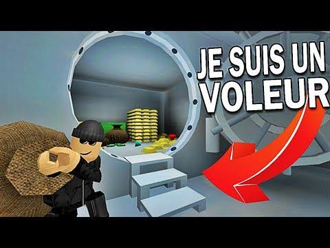 JE SUIS UN VOLEUR DE BANQUES ! | Roblox !