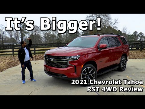 2021 Chevrolet Tahoe RST 4WD Review - It's Bigger!