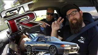 R32 Nissan Skyline GTR Test Drive and Review!!