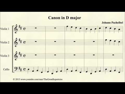 Pachelbel, Canon in D major