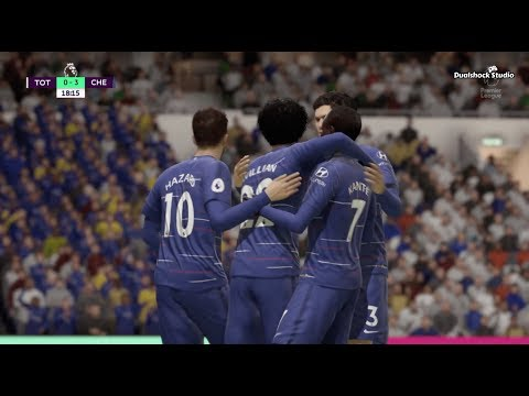 Chelsea vs Spurs (7-1) | Premier League | Matchday 13 of 38