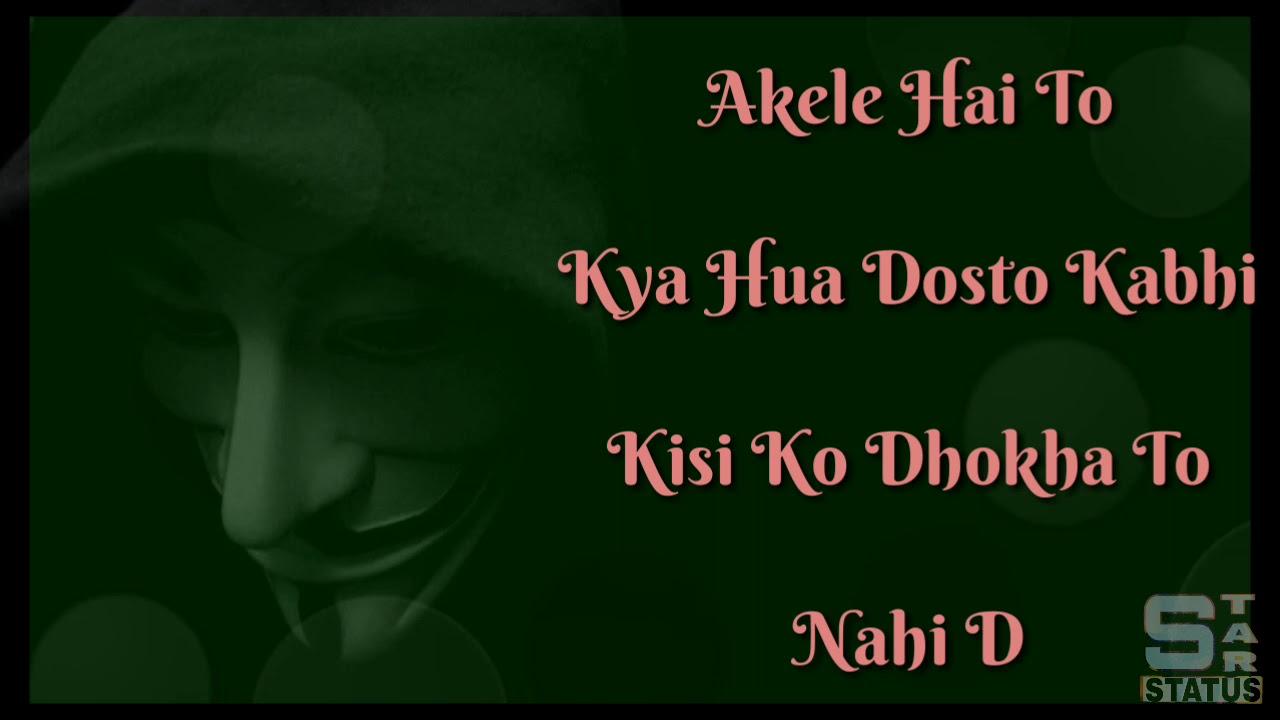Single Status Whatsapp Hindi Best 100 Sad Status For