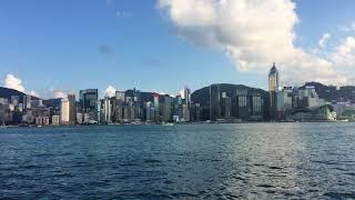 香港港邊一景2017