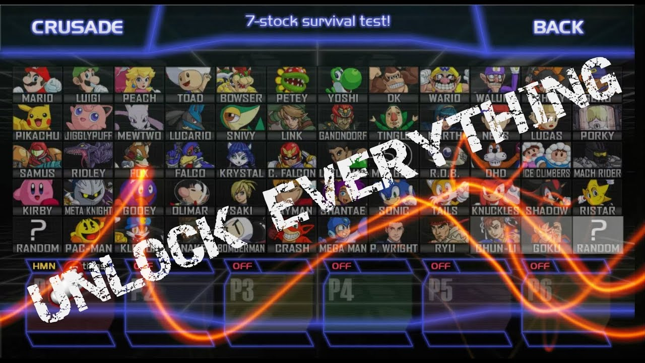 super smash bros crusade android apk