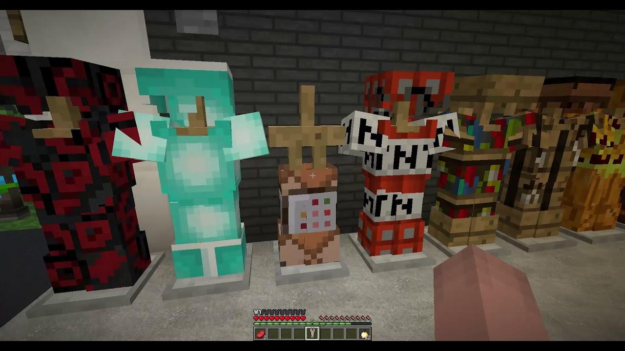 Minecraft當個創世神模組秀:史上最全的100套裝備 - YouTube