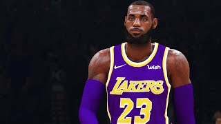 NBA 2K19 Gameplay: LeBron James Lakers vs. Warriors! FULL GAME (NBA 2K19 Gameplay Part 1)
