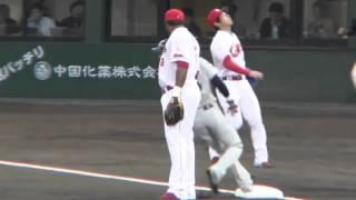 【呉二河】中日 1回表 1得点 2016年4月12日(火)