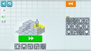 Lightbot Programming Puzzles Basics 1-9 Levels Android Code Hour LetsPlay