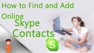 How to add online Skype users at the moment!