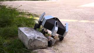 All-terrain robot for  nuclear decommissioning