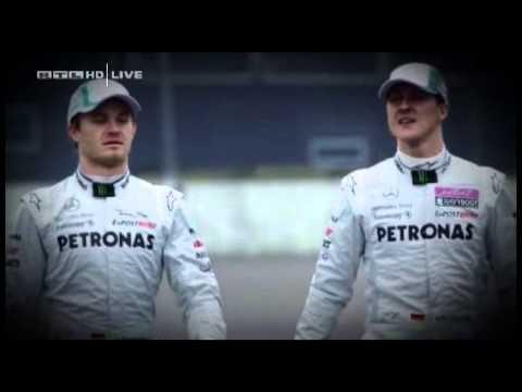 RTL mit Michael Schumacher und Nico Rosberg vor Malaysian GP 2011
