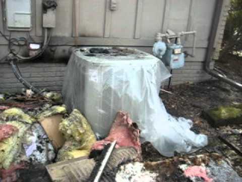 SLS Home Inspections Bourbonnais Il fire video