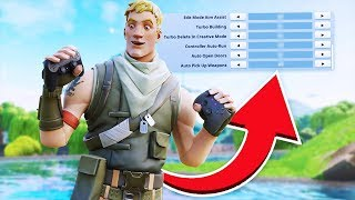 3 Important Controller Fortnite Settings You NEED To Try! (Fortnite Settings - PS4 + Xbox)
