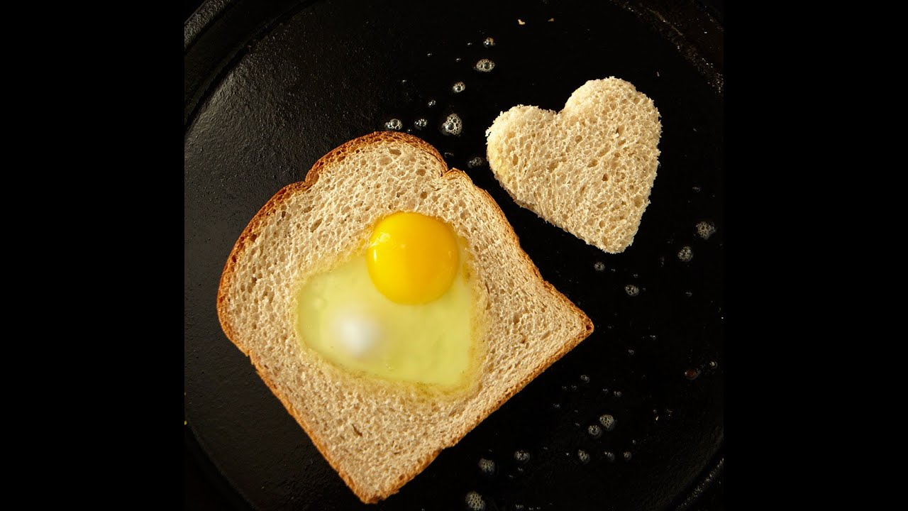 Breakfast Recipes For Kids: How To Make An Egg In The Hole  Weelicious   Youtube