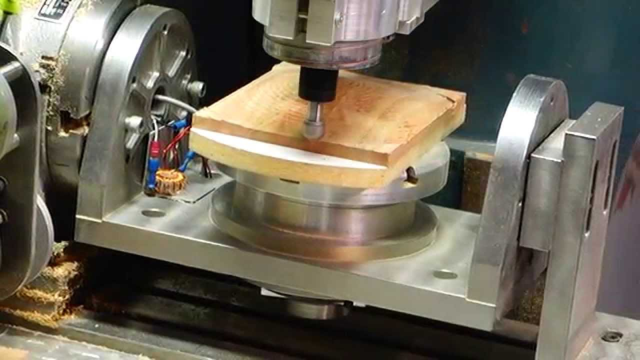 5 axis cnc woodworking