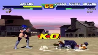 Street Fighter EX Blair VS Jack