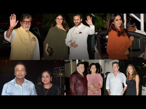 Inside Pics: Raj Kapoor's Daughter Rima Jain's Birthday Party 2016 !!