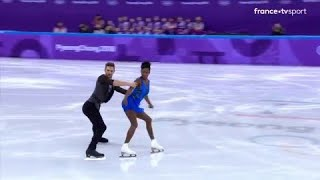JO 2018: patinage artistique couple - Superbe performance Vanessa James et Morgan à PyeongChang