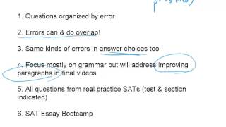 Introduction, SAT Grammar Tactics #1