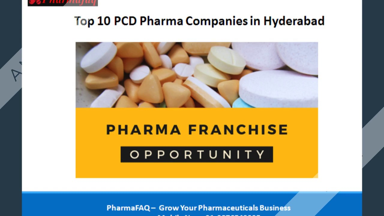List of Top 10 PCD Pharma Companies in Hyderabad 2019 [UPDATED]