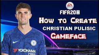 FIFA 20 - How to Create Christian Pulisic - Pro Clubs
