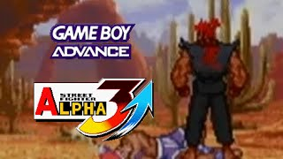 Repeat youtube video Street Fighter Alpha 3 Upper playthrough (GameBoy Advance)