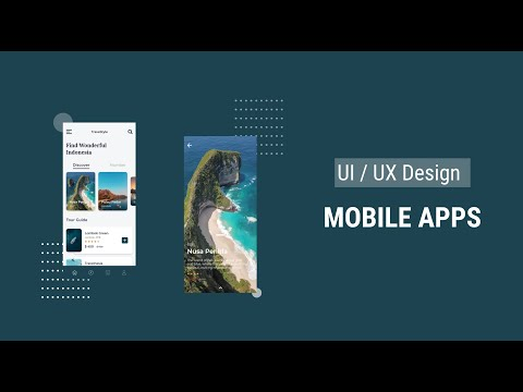 Mobile App UI Design Tutorial In Adobe XD thumbnail