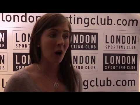 Eve Muirhead at the London Sporting Club