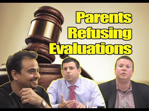 Education Law: What Legal Rights Do Schools Have When Parents Refuse Evaluations?