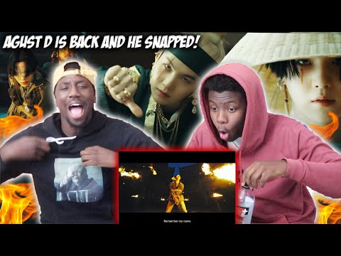 Agust D '대취타' MV | REACTION