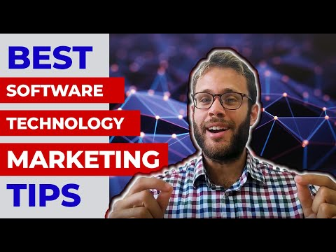 Marketing Techniques For B2B Software & Technology Companies | BRAND NEW!