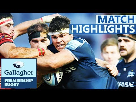 Gloucester 15-30 Sale | Surprise Result at Kingsholm | Gallagher Premiership - Highlights