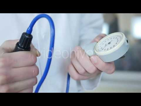 Doctor Measures The Blood Pressure - Stock Footage | VideoHive 15021171