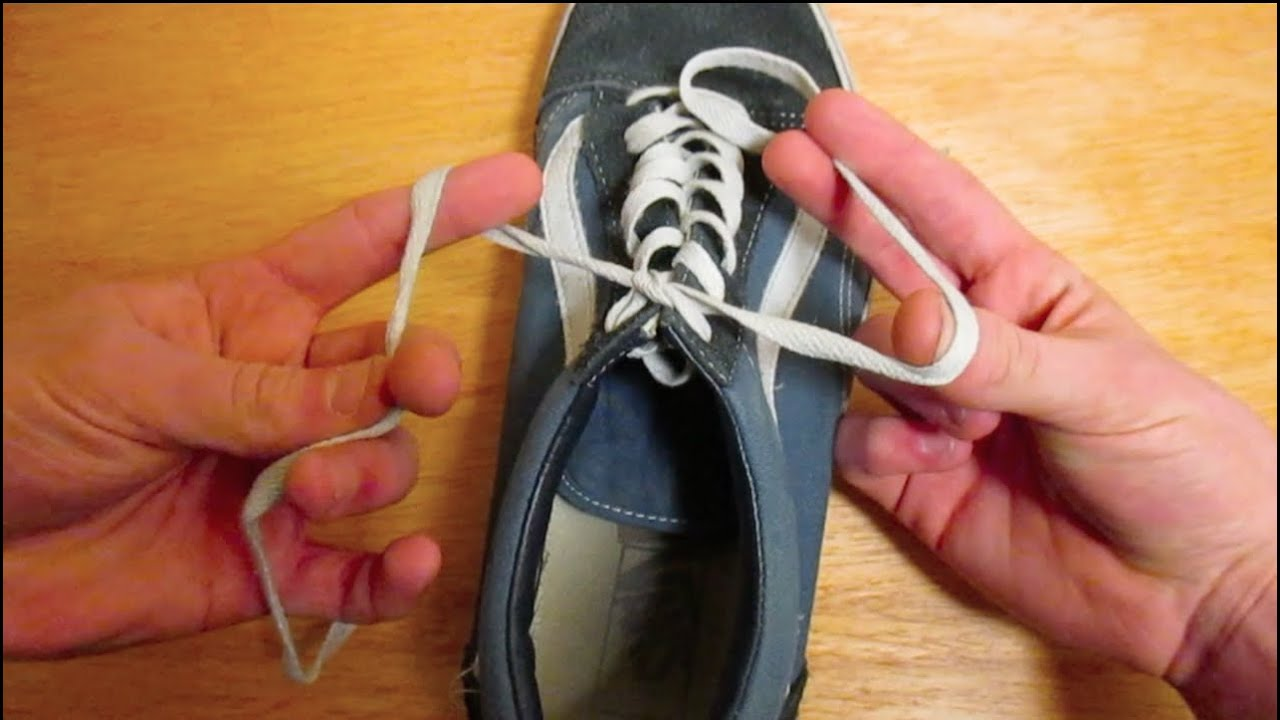How to Tie Your Shoe in 1 Second YouTube