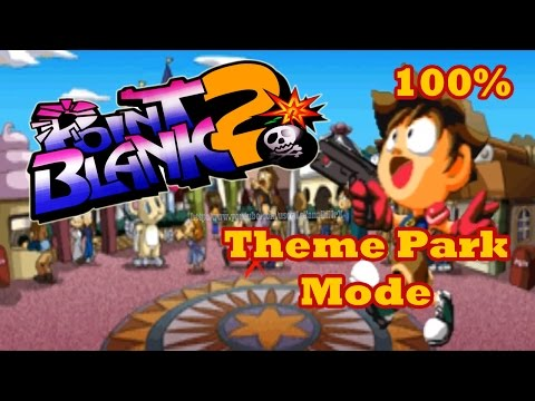Point Blank 2 (ガンバレット 2) Theme Park Mode 100% Ps1 [HD]
