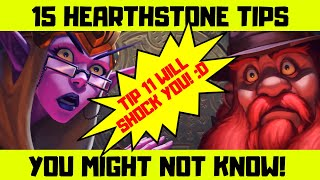 Hearthstone Tricks You Probably Don't Know About!