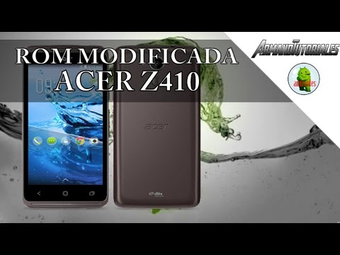 ROM modificada Acer z410 | Recovery CWM | TWRP