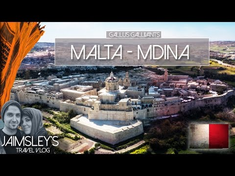 MALTA MDINA -  Game of Thrones, Drone flight, Citadel and Dingli cliffs