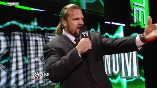Raw - WWE COO Triple H confronts David Otunga and his gang of disgruntled Superstars