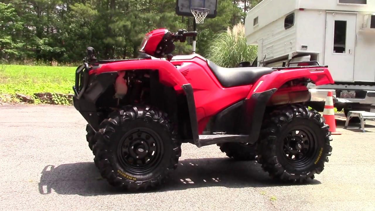 ATV Together * Honda Foreman Rubicon * Upgrades * ITP Blackwater Evolution tires - YouTube