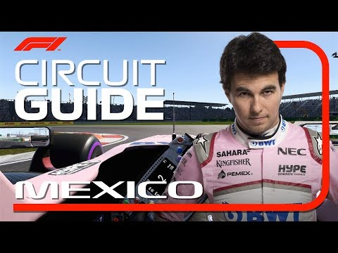 Sergio Perez's Virtual Hot Lap Of Mexico | 2018 Mexican Grand Prix