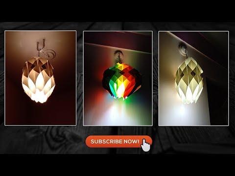 #diypaperlamp #neethuscraft  HANDMADE PAPER LANTERN/LAMP |BEST OUT OF WASTE DIY|HOME DECOR