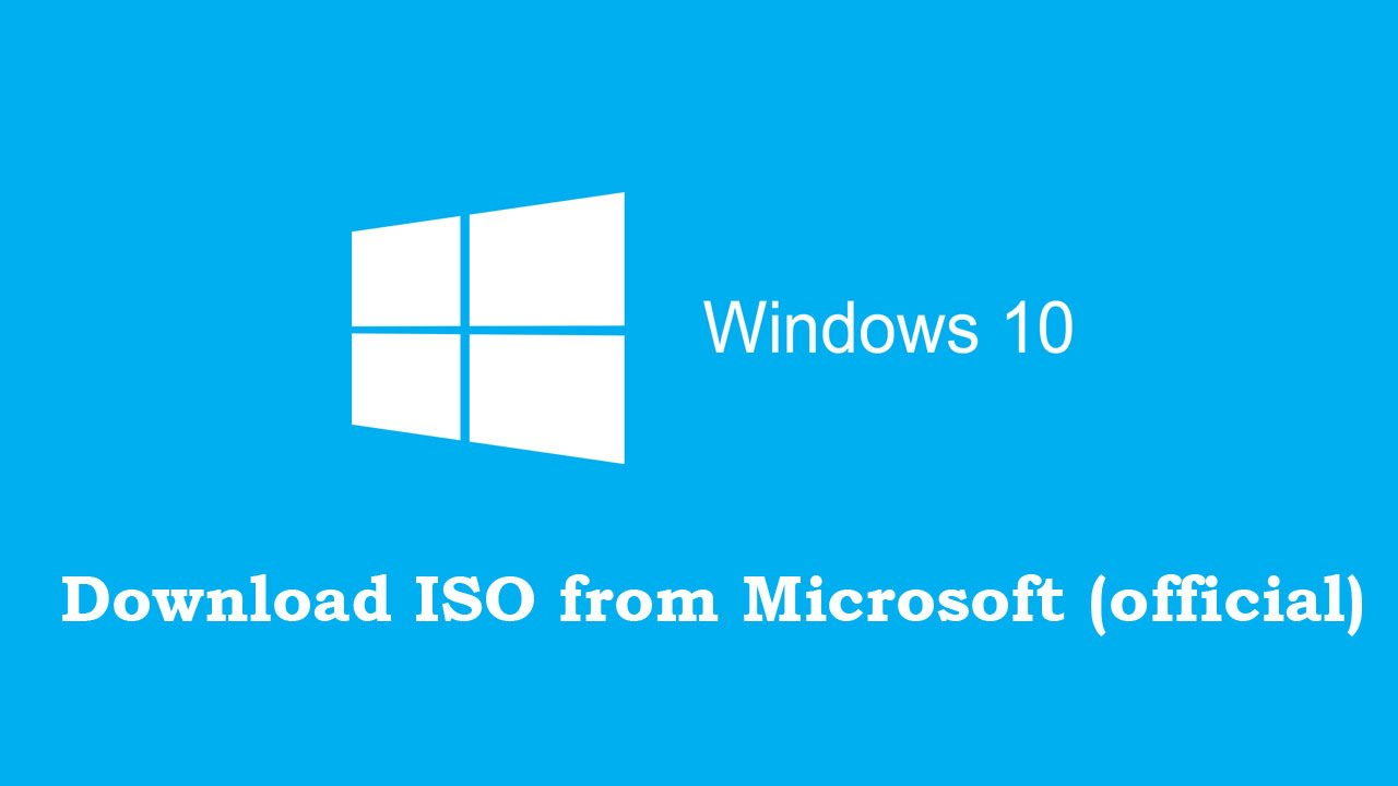 Download Free Windows 10 Iso From Microsoft Official