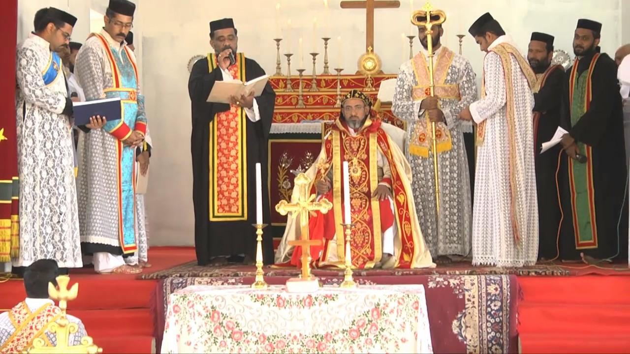 Rev. Dn. Manish ordination service @ St. Mary's JSO Church ...