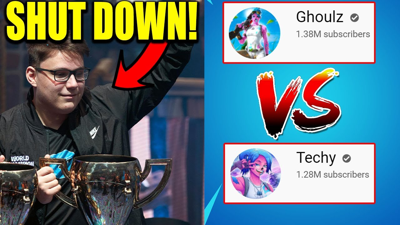 Fortnite World Cup Champions SHUT DOWN! Techy vs Ghoulz Drama For STEALING Videos?